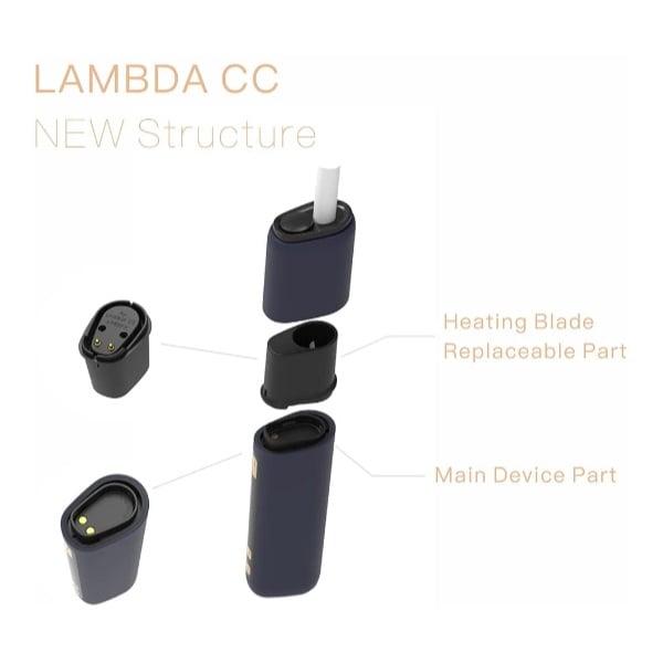 Lambda CC Replacement Blade Diagram